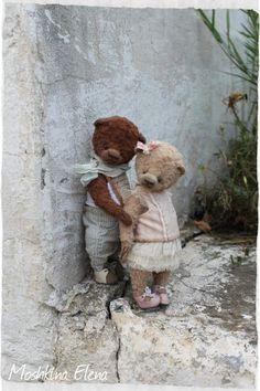 Teddy Bears - love))) by By Moshkina Elena | Bear Pile