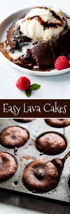 Chocolate Lava Cakes | My Kitchen Recipes