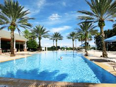 Heritage Crossing Community Pool Overlooking The Arnold Palmer Legacy Course! Beach Entry Pool, Natural Landscaping, Luxury Condo, Back Doors, Gated Community, Luxurious Bedrooms, Ground Floor, Swimming Pools, Villa