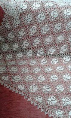 Crochet Art, Thread Crochet, Filet Crochet, Needle And Thread, Crochet Patterns, Crochet Bedspread, Crochet Tablecloth, Crochet Doilies, Point Lace