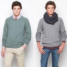 Chic & Cool ! Messieurs, craquez pour nos pulls et elles craqueront pour vous !!! #nicoli #mode #homme #fashionistas #inspiration #look