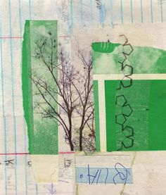 A Collage A Day: The Green Spring