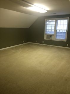 Another before of the bonus room. Photos coming of the AFTER. Stay tuned