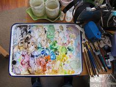 Watercolor Palette of Tanna Bennett