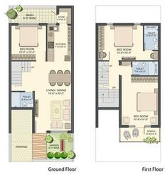Image result for 18x50 house design 2bhk House Plan, Narrow House Plans, Small House Floor Plans, Simple House Plans, Duplex House Plans, Container Home Designs, Indian Home Design, Home Building Design, Home Design Plans