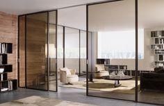 glass sliding doors longhi - Google Search