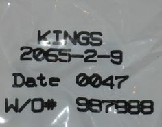 Kings BNC 2025-79-9 Connector NEW
