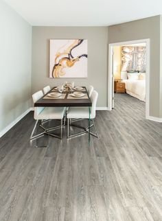 Luxury Vinyl Tile is the perfect addition with carpet tiles, broadloom carpet and custom rugs! #Flooring #LVT #Tile #design #office #interiordesign Pictured: Wood (W1016) #officedesignswood