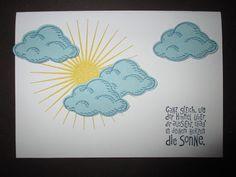 Sconebeker Stempelscheune - Stampin up Sets : Kinda Eclectic, Worte die gut tun, Sonne im Herzen