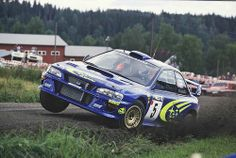 Subaru Impreza WRC99 of Richard Burns at 1999 Rally Finland