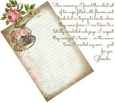 glenda's World : Journal Cards
