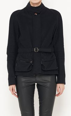 Burberry London Black Jacket