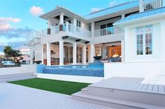 Take a walk through this spacious 4 bedroom, 5.5 bathroom beach style house plan with a wonderful open floor plan design. - See more at: https://www.thehousedesigners.com/plan/sea-cave-1456/ #houseplan #house #home #plan #architecture #findyourhome #househunting #bedroom #bathroom #kitchen #vacation #beach #beachhouse #dreamhome