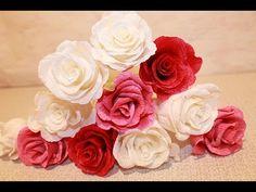 Krepp papír virág készítés lépésről lépésre rengeteg ötlettel » Hobbibol.com