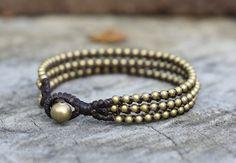 Chill Brass Bracelet