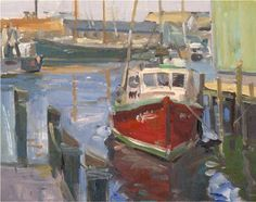 David Lussier Oil Painting
