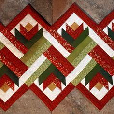 Quilted Table Runners Christmas Patchwork Table Runner Table Runner Pattern Table Runner And Placemats Bargello Quilts Jellyroll Quilts Small Quilts Mini Quilts Quilt Block Patterns Quilted Table Runners Christmas, Patchwork Table Runner, Christmas Patchwork, Table Runner And Placemats, Table Runner Pattern, Christmas Quilting, Quilt Table Runners, Log Cabin Quilts, Barn Quilts