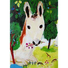 Kan Fokuda- love, love, love the horse's expression!