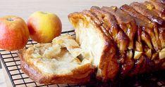Ciasto do odrywania z jabłkami i karmelem/Caramel apple pull apart bread