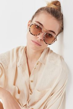 Austin Aviator Sunglasses | Urban Outfitters