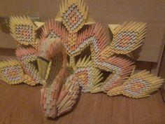 Paw z origami 3D