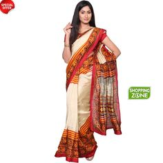 Upto 53% off on Vikasha Bhagalpuri Sandal Saree. Shop online now @ http://www.szonline.in/sarees/vikasha-bhagalpuri-sandal-saree/p-5887682-19336524583-cat.html?commit=buy+now!#variant_id=5887682-19336524583 #Fashion #women #saree #sareeonline #onlineshopping
