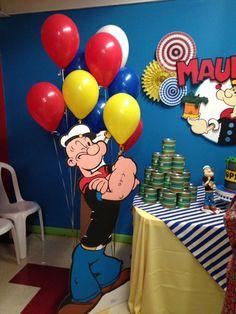 Popeye Birthday Party Ideas   Photo 9 of 15   Catch My Party