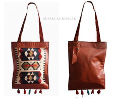 #shoulder #bag #bohemian #ethnic #Egypt #handmade #colors #desert #tassels