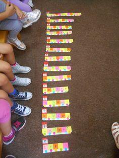 ~~kindergarten teacher ~~ΝΗΠΙΑΓΩΓΟΣ.....ΧΡΩΜΑΤΑ ΚΑΙ ΑΡΩΜΑΤΑ...2ο ΝΗΠΙΑΓΩΓΕΙΟ ΚΟΣΚΙΝΟΥ : ΟΝΟΜΑΤΩΝ ΣΥΝΕΧΕΙΑ !! Name Activities, Triangle, Names, Blog
