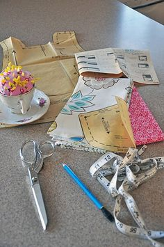 pattern cutting 101 - good post to share with someone who has never done it before!