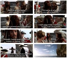 Captain Jack Sparrow, Pirates of the Caribbean: The Curse of the Black Pearl