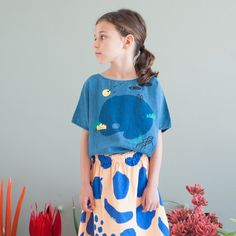 BOBO CHOSES online shop sells comfortable, singular and fun clothes and accessorises. Young Fashion, Little Girl Fashion, Toddler Fashion, Kids Fashion, Kids Outfits, Cool Outfits, Cute Baby Shoes, Zara, Fashion Fabric
