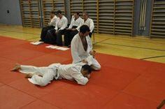Aikido Kyuprüfungen in Linz Urfahr (Oberösterreich) im Dezember 2015 – Ikkyofixierung