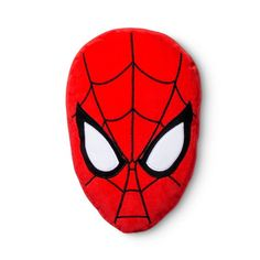 "Spider-Man® Face Red Throw Pillow (10""x14"")"