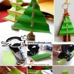 Accordion-Fold CHRISTMAS TREE