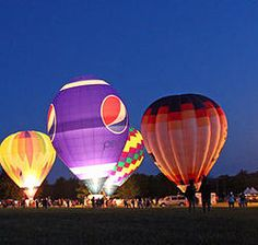 New Haven Hot Air Balloon Race │New Haven MO │ Presented by Pepsi-Cola