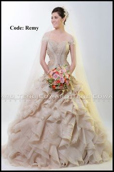 54 best philippines wedding gown designer images on Pinterest | Alon ...
