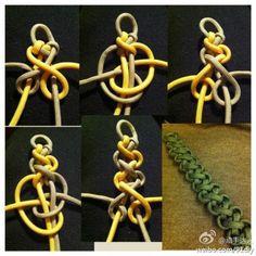 手绳的编法...来自关于未来-的图片分享-堆糖网