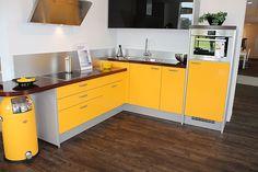 gelbe küche