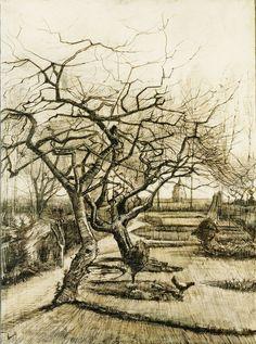 ALONGTIMEALONE: dappledwithshadow: van Gogh drawings 1881-1889