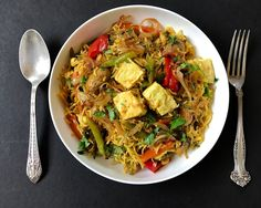 Vegetable and Paneer Biryani - A classic Indian one pot meal that is full of aromatic flavors from whole spices, garam masala and long grain basmati rice.
