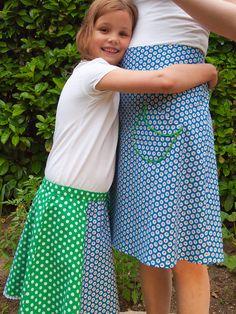 rokjes voor moeder en dochter