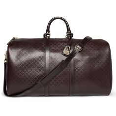 Textured-Leather Holdall by Gucci