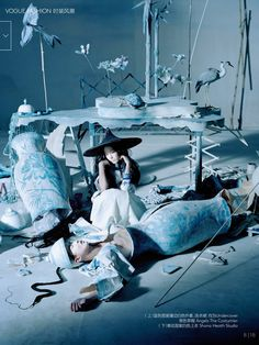 VOGUE CHINA DECEMBER 2014 Photographed by Tim Walker