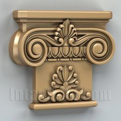 model for CNC routers and printers (art. Catholic Altar, 3d Printing Machine, 3d Cnc, European Home Decor, Carving Designs, Machine Design, Architectural Elements, Ceiling Design, Wood Carving