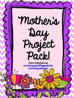 A collection of my three FAVORITE Mother's Day projects from the past 12 years!  Guaranteed to become a timeless treasure for the special mom or grandma in your student's life!  Everything you need to get started is right here!See how this project turned out in my class!