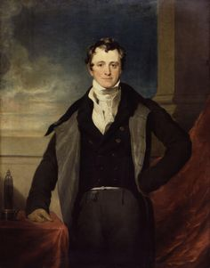 Sir Humphry Davy, Bt., by Sir Thomas Lawrence. National Portrait Gallery.