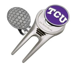 Texas Christian Horned Frogs - Cap Divot Tool