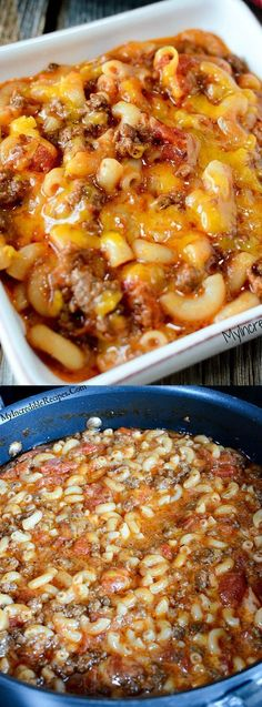 This Old Fashioned Goulash recipe from My Incredible Recipes is one of those meals that everyone always loves! It's beefy, cheesy and filled with pasta goodness.