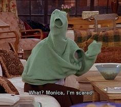 The One With The Screamer #Friends #funny